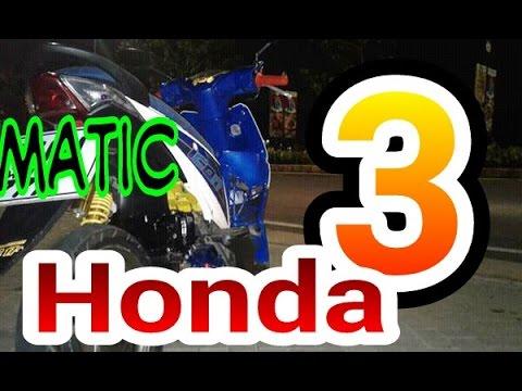Tiga Matic Honda yang paling keren