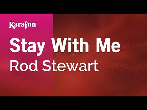 Karaoke Stay With Me - Rod Stewart *