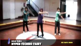GOLD TIARA / HYPER TECHNO FAIRY