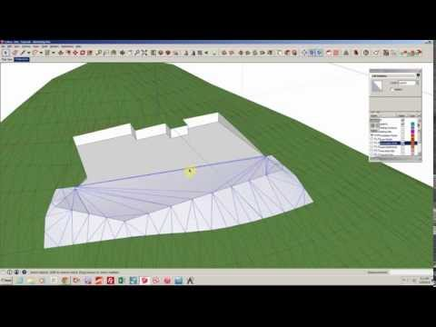 Site Modeling in SketchUp: Part I: Existing and Excavated Site