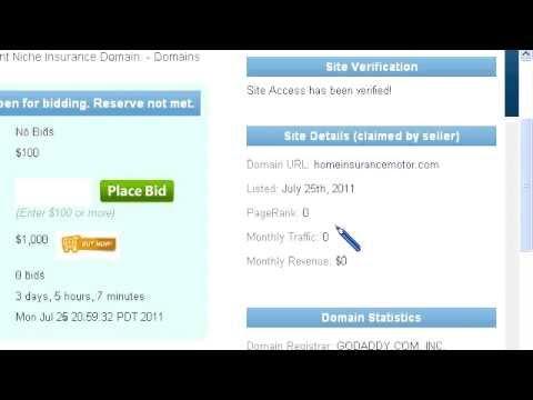 Motor Home Insurance Domain For Sale