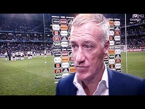 Didier Deschamps 🎤