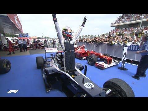 Maldonado's Sublime Victory   2012 Spanish Grand Prix