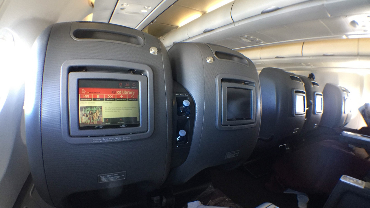 [UPGRADED!] Qantas old A330 Business Class experience ...