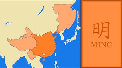 History of Ming Dynasty (China) : Every Year (Map in Chinese Version)