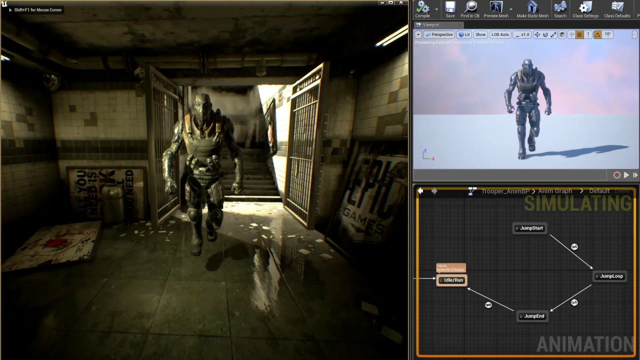 Unreal Engine 4 17 Release Notes | Unreal Engine Documentation