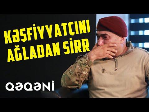 """""""Döyüşə Erməni Polkovnikin Silahı İlə Girdim """" - Kəşfiyyatçı Qəqəni"""
