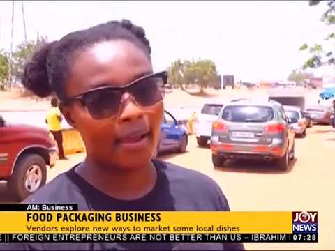 Food Packaging Business -AM Business on JoyNews (18-4-18)