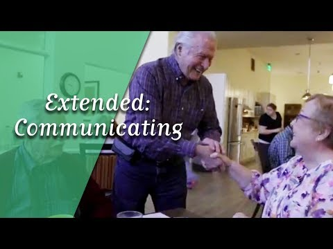 Extended: Communicating and Alzheimer's Disease