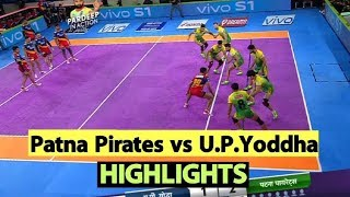 Pro Kabaddi 2019 Highlights [Hindi]: Patna Pirates Beat U.P.Yoddha | Sports Tak