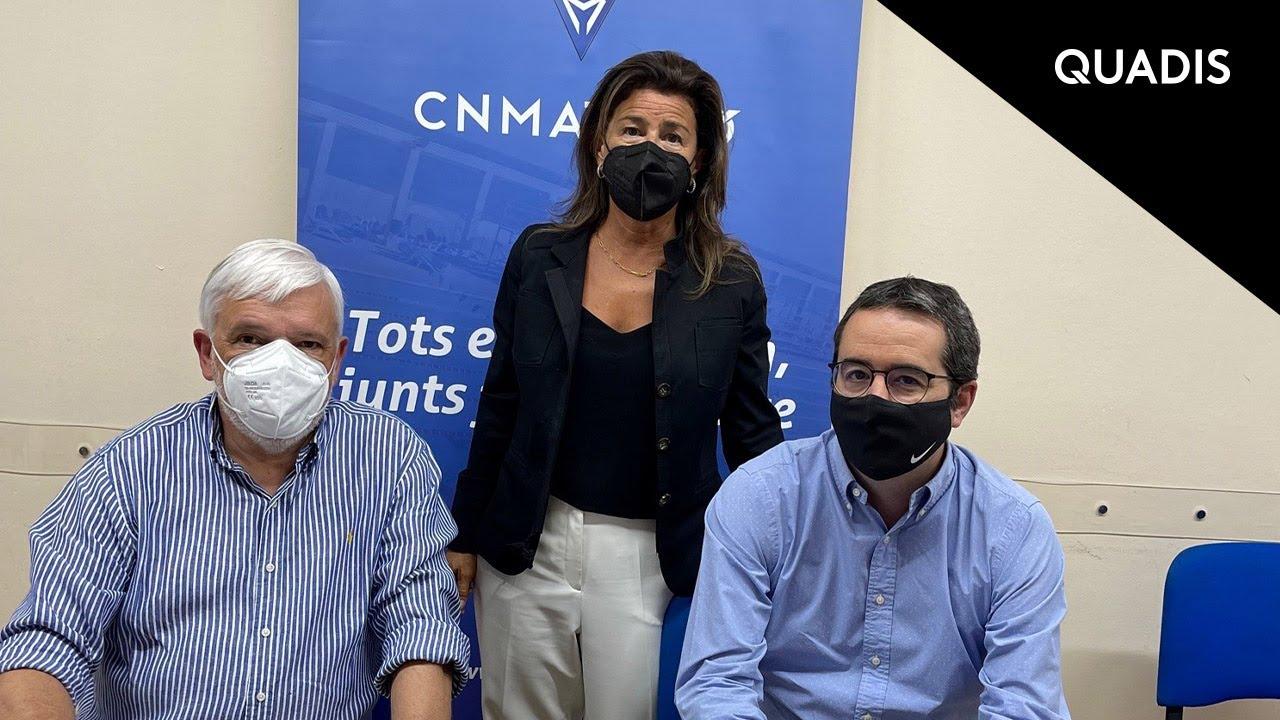 QUADIS y el CN Mataró celebran 18 años de patrocinio
