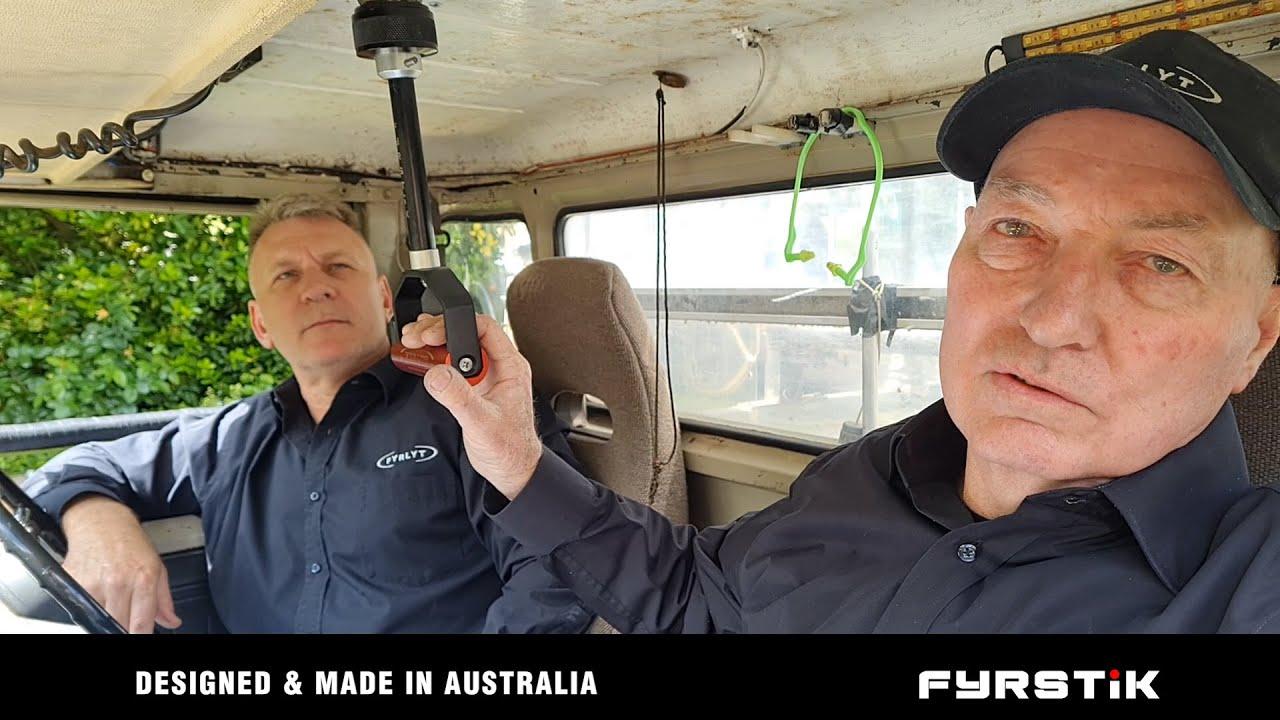 FYRSTIK Remote Handle VIDEOS ARE LIVE. World first innovation.