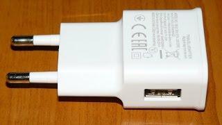 USB зарядка для телефона 2А, подделка: обзор и тест - купить на АлиЭкспресс