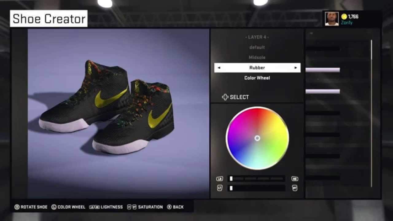NBA 2K15 Shoe Creator - Nike Kyrie 1 Custom