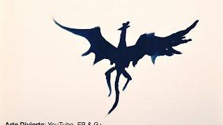 Cómo pintar dragones y animales fantásticos con tinta china
