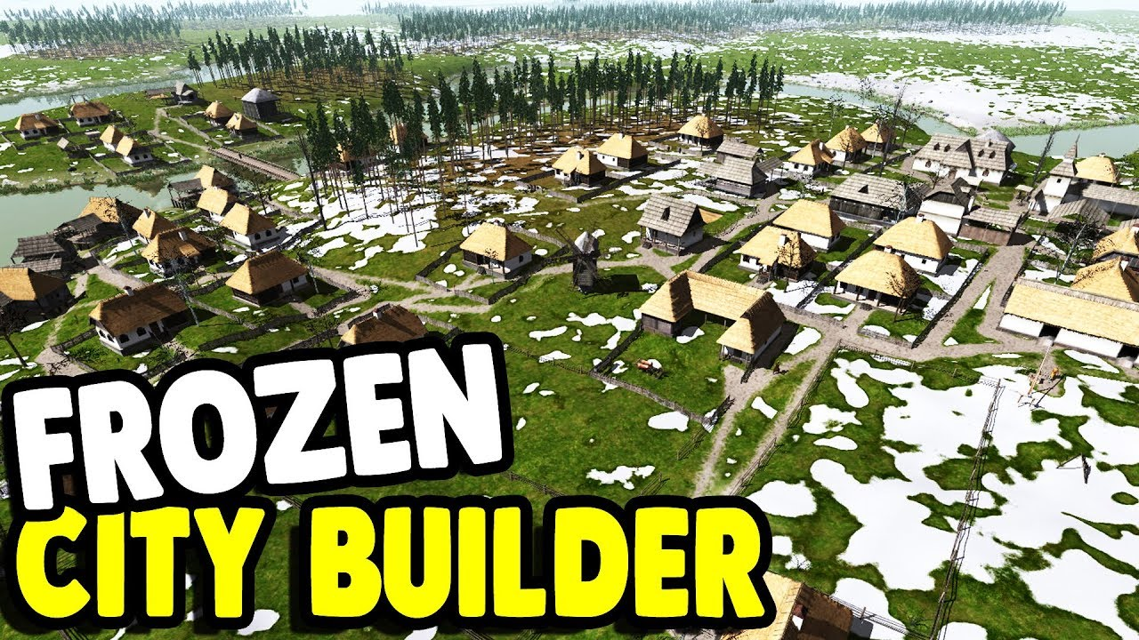 Building Huge Town New City Builder Ostriv Gameplay