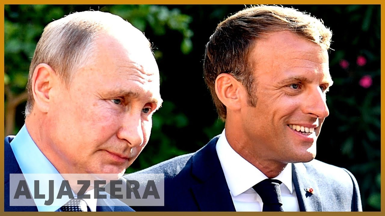AlJazeera English:Macron tells Putin truce in Syria's Idlib must be respected