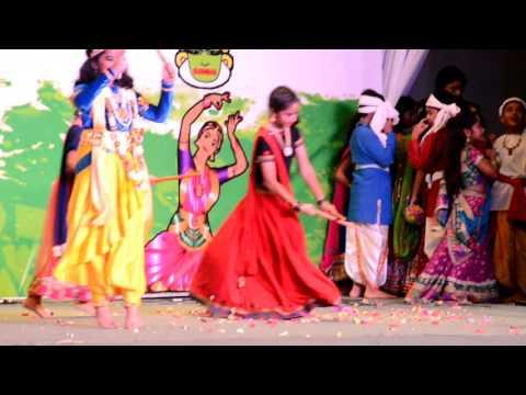 Aradhya as krishna in Indian school dar es salaam