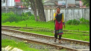 Don't use mobile phone while walking in rail line / Be care full & Save your life