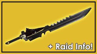 Destiny Taken King: Exotic Sword Raze-Lighter Gameplay & King's Fall Release Date!