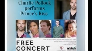Charlie Pollock performs Prince