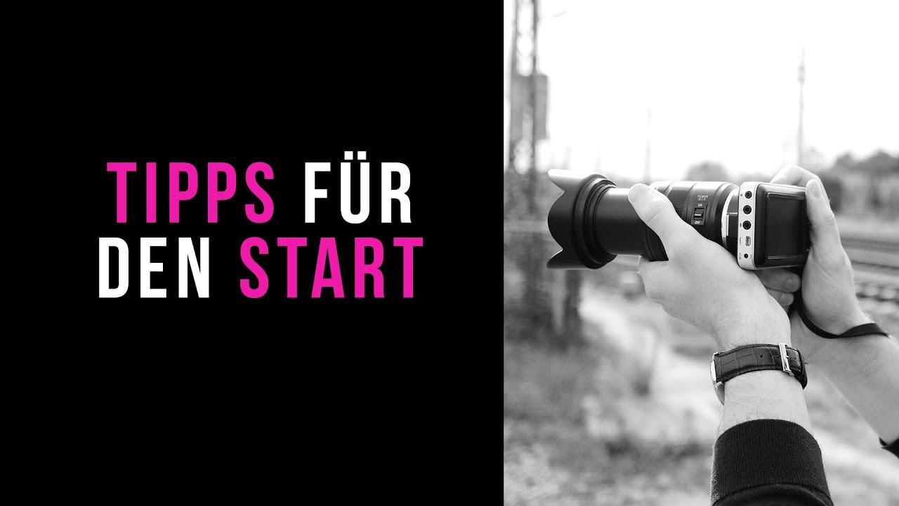 Tipps für den Start als Filmemacher