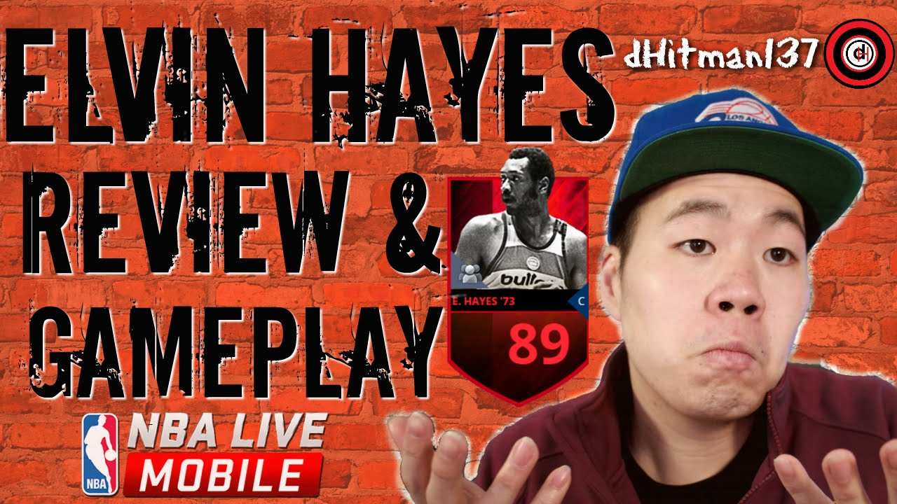 Nba Live Mobile Elvin Hayes Player Review Nba Live Mobile