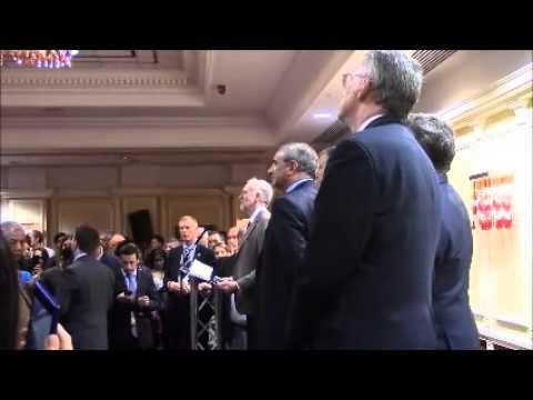 Jeremy Corbyn \u0026 Erel Margalit Speak At Labour Friends Of Israel