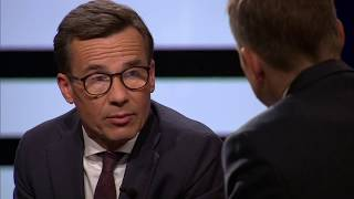 Ulf Kristersson stödjer liberalkonservatismen