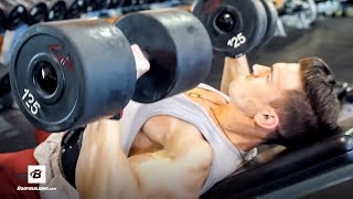 Abel Albonetti's High-Volume Upper Chest Workout | Commentary