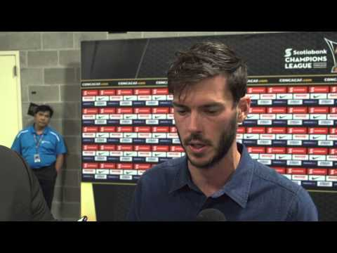 Interview: Brad Evans post-match vs CD Olimpia | CONCACAF Champions League