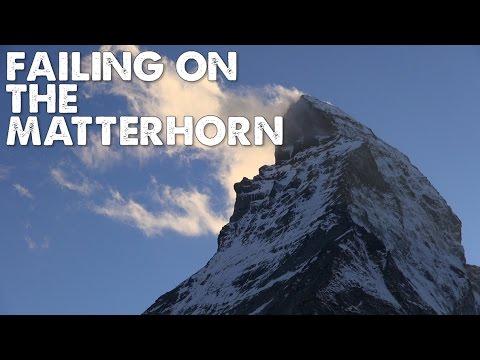 The Matterhorn is SCARY!