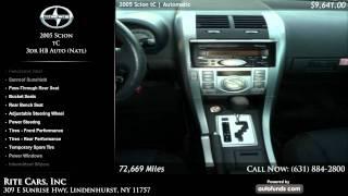 2005 Scion tC 3dr HB Auto (Natl) | Rite Cars, Inc, Lindenhurst, NY - SOLD