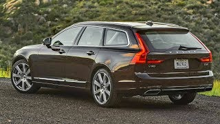 2018 Volvo V90 T6 - Luxury and Comfort