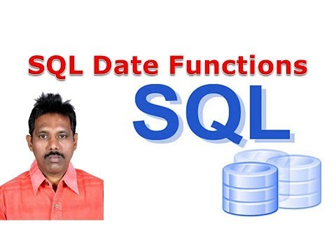 SQL Tutorial 12: SQL Date Functions