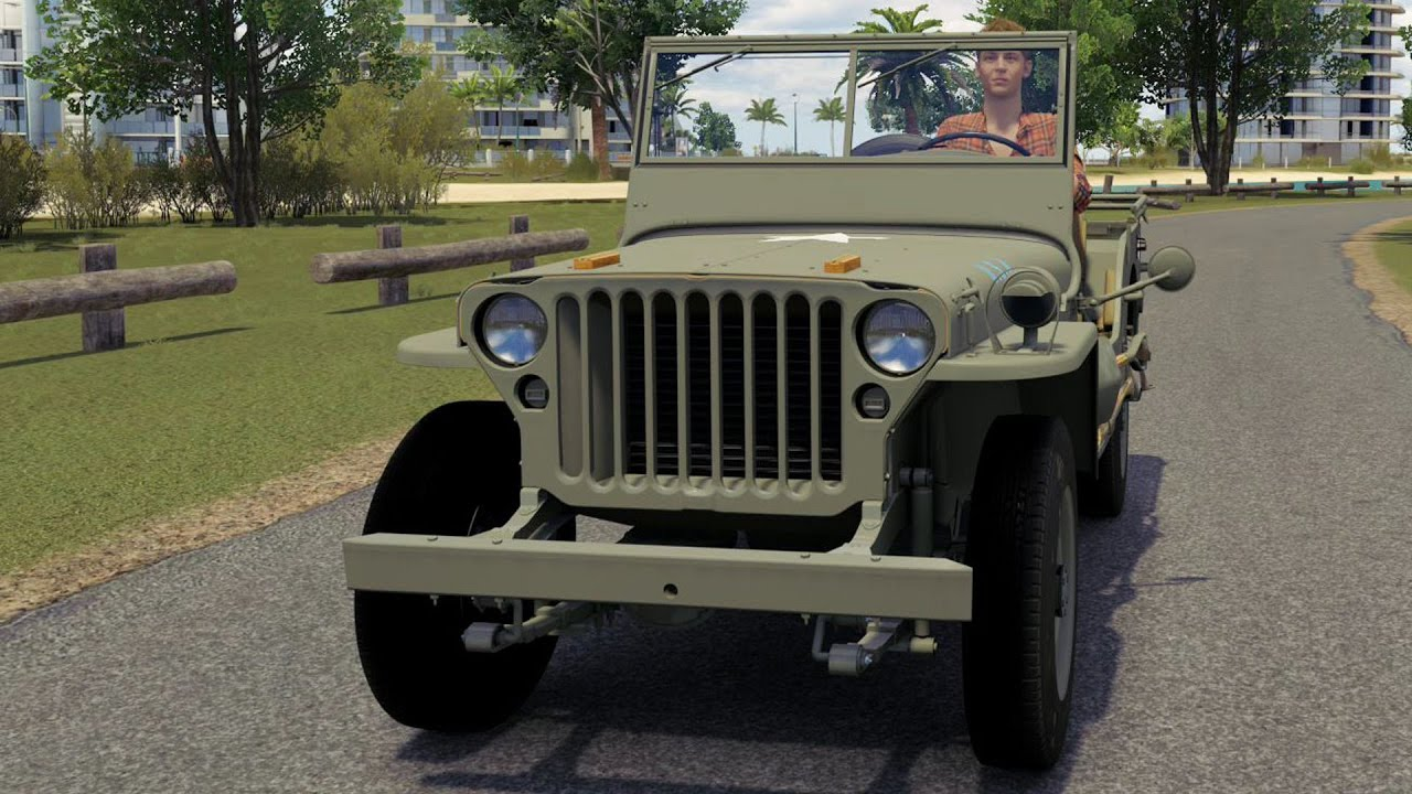 how to drive willys jeep