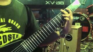 DEFTONES Poltergeist guitar cover (8 string)