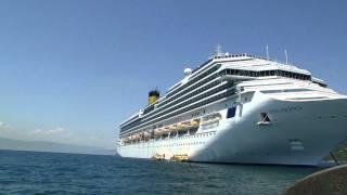 Retorno ao navio Costa Pacifica na Ilha Bela - SP, em dezembro de 2011.MP4