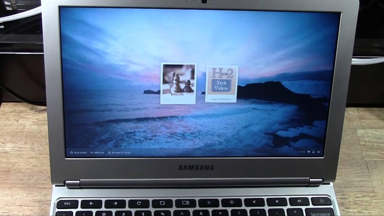 Chromebook: How to Turn It Off (Shutdown) | H2TechVideos