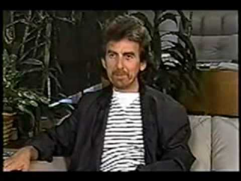 George Harrison interview about Eric Clapton (funny)