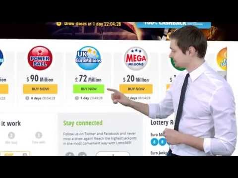 How to buy tickets online for lottery - lotto365.
