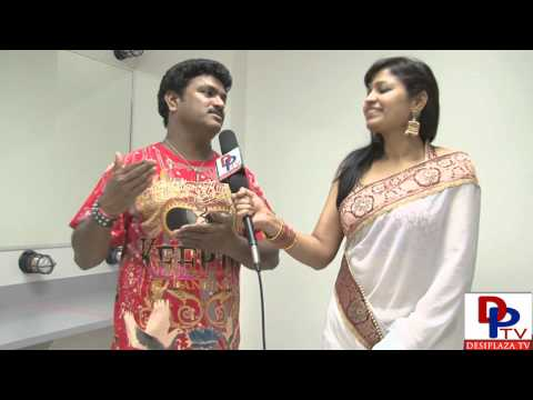 Siva Reddy,Popular Telugu Mimicry artist,Movie Actor speaking to Desiplaza TVSiva Reddy