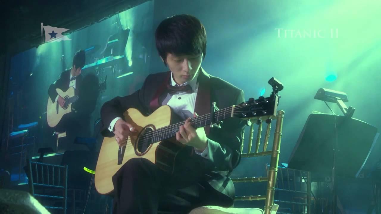 "TITANIC II World Launch  -  ""My heart will go on"" SUNGHA JUNG LIVE New York"