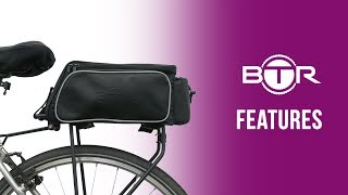Rear Rack Bike Bag - a Bicycle Pannier bag by BTR🚲