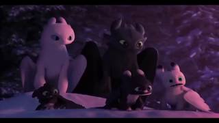 How to Train Y๐ur Dragon Homecoming - Hiccup & Astrid Say Good Bye Toothless - Ending Scene