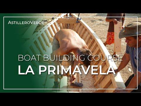 "Building ""La Primavela' - Small Boat Building Course - SAILCARGO INC."