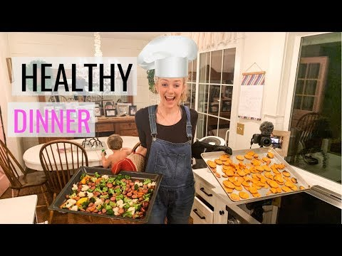 3 Ingredient Easy Healthy Dinner- KIDS LOVE! WHATS FOR DINNER WEDNESDAY!