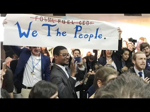 Activists Disrupt White House's Pro-Coal Panel at Bonn Climate Summit