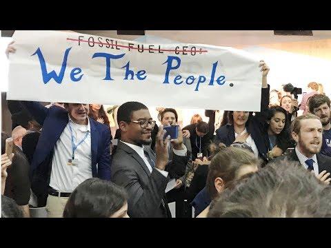 Activists Disrupt White House's Pro-Coal Panel at Bonn Climate Summit
