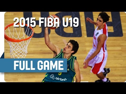 Tunisia v Australia – Group C – Live Stream – 2015 FIBA U19 World Championship